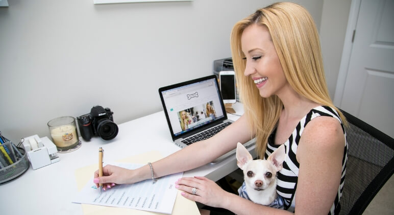 Keeping your pup's vet records close by is important. That's why I've created a special, printable vet records keeper for you. Download your free copy here!