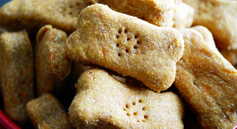 Easy Carrot And Sweet Potato Dog Biscuit Recipe