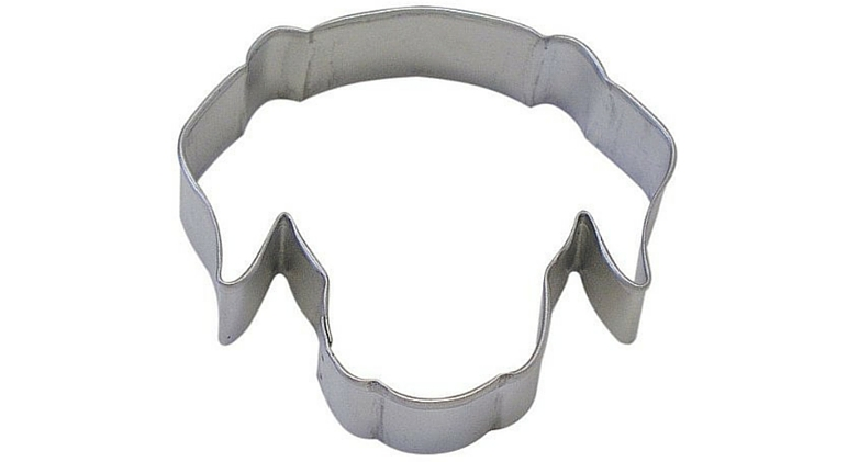 dog face cookie cutter