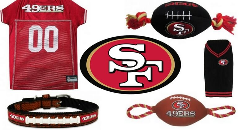 new concept 3ab4c fbff8 Get Your Pup Ready For Kickoff: Dog Football Jerseys & Toys