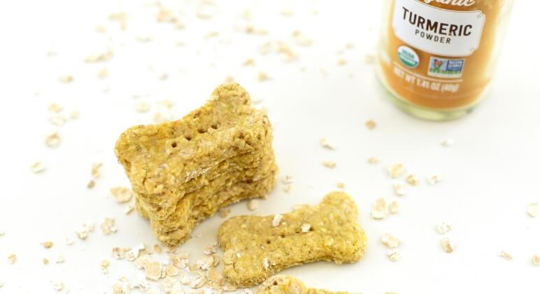 Anti-Inflammatory Dog Biscuit Recipe