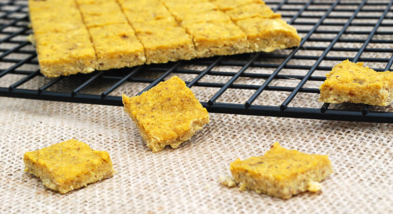 Since these soft chew dog treats don't require any jaw power to chomp through, they're perfect for both baby and senior Fido … and every age in between!
