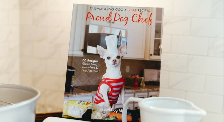Proud Dog Chef is filled with 60 gluten-free, grain-free, and dog-approved recipes that are bound to make even the pickiest dog's tail wag. With careful attention to nutrition, this cookbook is written for the dog parent who is ready to leave behind questionable ingredients and red flag preservatives.