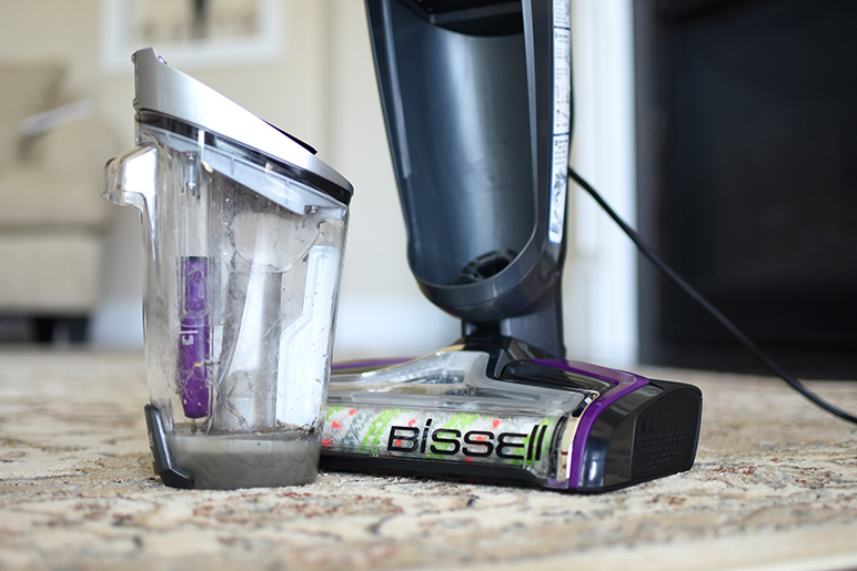 Hair, vomit, accidents (or the occasional on-purpose), spills, food crumbs, dirt, and dead grass. These are just a few of the things my two lovely dogs have left on my floors over the years. Can you relate? Discover a new and easier way of cleaning with BISSELL CrossWave Pet Pro, specifically designed for pet parents!