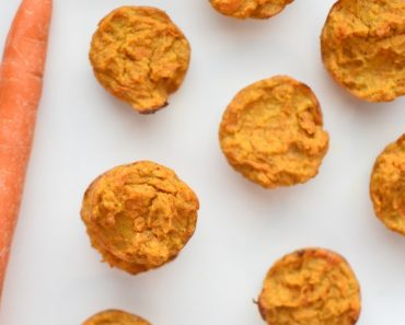 These sweet potato puppy muffins are free of gluten and grains, making them great for all dogs. Get the nutrient-rich recipe inside!